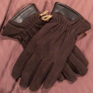 NEVER WORN Timberland Men's Large Leather Gloves